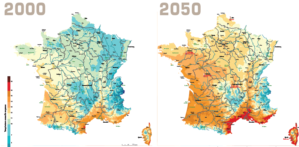 L'exposition : La France de 2040 - Géographie et prospective