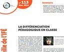 La différenciation pédagogique en classe, dernier dossier de la Veille