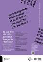 Entretiens Ferdinand Buisson Les enseignants entre métier et profession : une identité introuvable ?