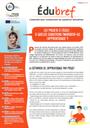 CROSSCUT : Publication Edubref Apprendre par projet
