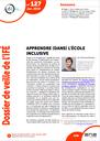 Dossier de veille de l'IFÉ n° 127, janvier 2019 : Apprendre (dans) l'école inclusive