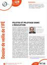 Dossier de veille de l'IFÉ n° 128, février 2019 : Pilotes et pilotage dans l'éducation