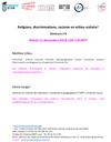 Religions, discriminations, racisme en milieu scolaire : Séminaire n°8