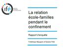 Dernière publication : les effets du confinement sur l'activité des professionnels de l'enseignement