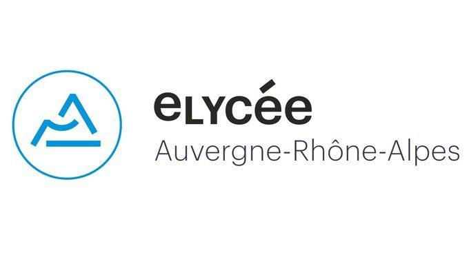 e-lycée Auvergne-Rhône-Alpes logo